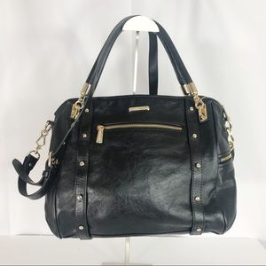 Rebecca Minkoff Cupid Black Satchel Purse Bag